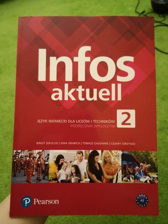 Nowy podręcznik do niemieckiego Infos aktuell 2