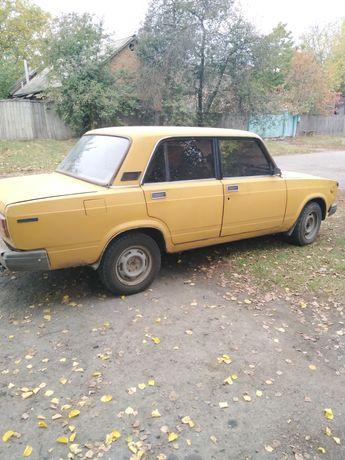 Продам авто Ваз 2107 на ГАЗУ
