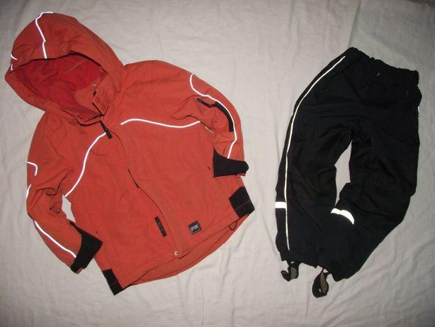 LINDEX (FIX) kurtka narciarska i spodnie 110cm
