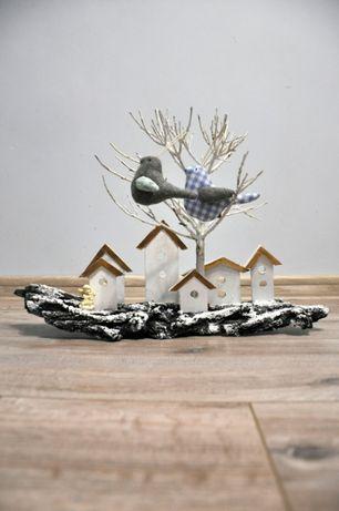 Елочные игрушки птички, новогодний декор