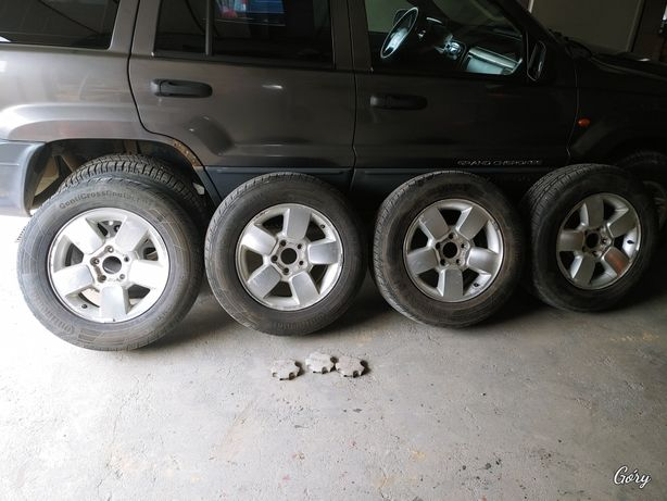 Koła jeep 5x127 r17