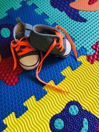 Стильные кеды, кроссовки для маленьких модниц 11,5 см
