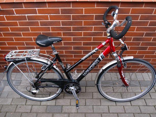 nowy rower Winora Domingo DeLuxe Shimano Deore XT Suntour Magura nexus