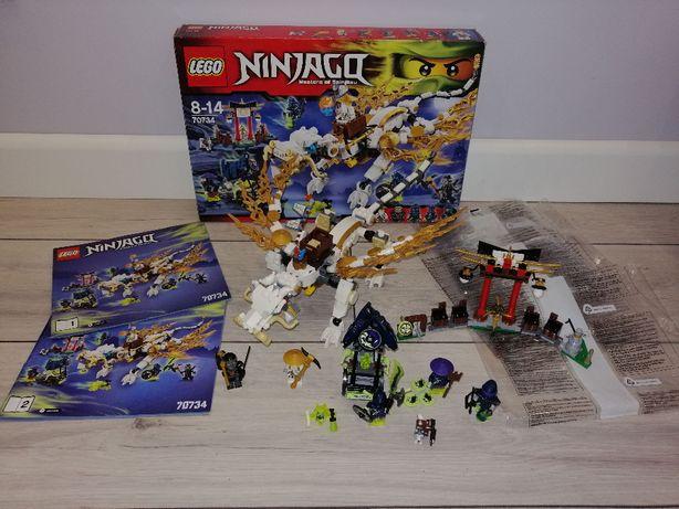 Lego Ninjago 70734 Smok Mistrza Wu. OPIS.
