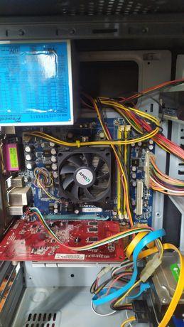 Комп'ютер 1.5tb hdd, 1gb Відео, amd athlon 2.0 GHz, 19 дюймів монітор