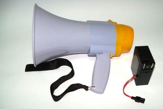 Рупор HW 8C з функцією запису голосу (Гучномовець, мегафон) 15W