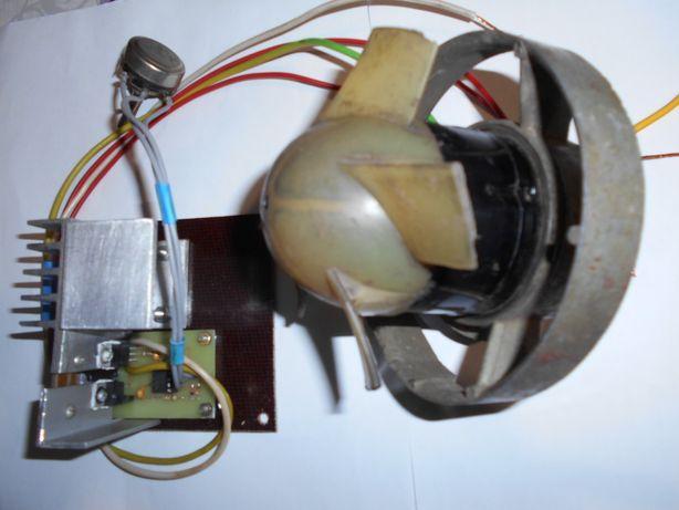 электро мотор 12 в с регулятором оборотов