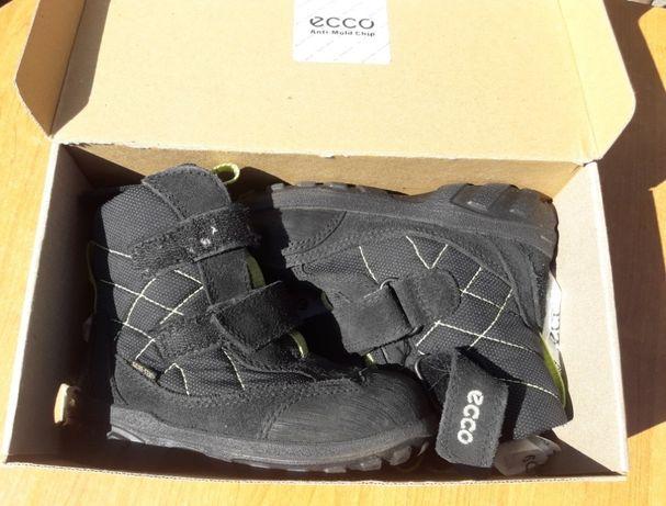 Buty kozaczki zimowe Ecco czarne roz 22 i 26 Goretex