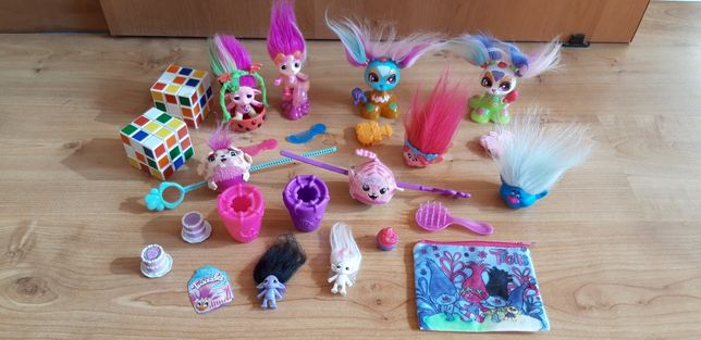 Zelfs  Trolls Twizzles Fre kostki  zabawki dla bliźniaczek