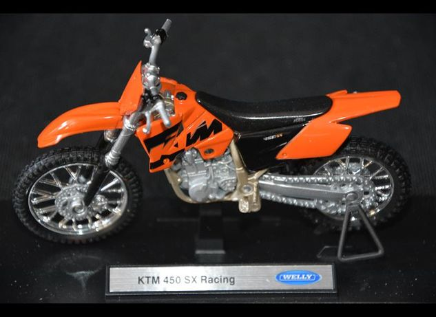 KTM 450 SX Racing NOWY model welly 1:18
