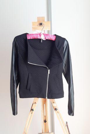Ramoneska skórzane rękawy H&M
