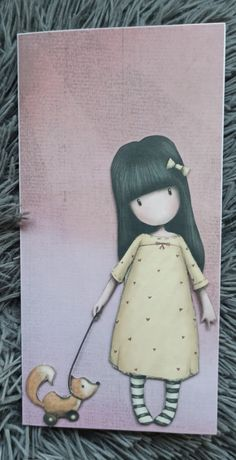 Kartka urodzinowa ręcznie robiona gorjuss dowolny napis