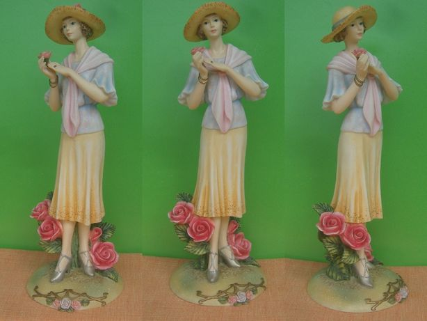 Porcelanua figurka figurki porcelanowe i alabastru