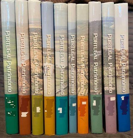 Portugal património 10 volumes Círculo de leitores