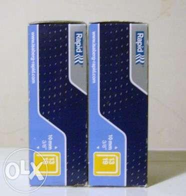 Vende-se Agrafos marca RAPID 10 mm p/ Agrafador Vertical
