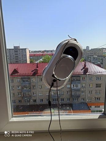 Мойка окон зеркал пылесосом аренда робота для мойки око