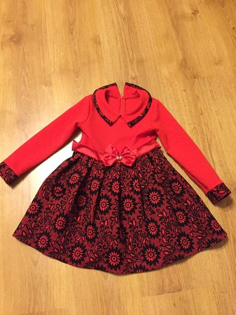 Sukienka świąteczna - 110 wizytowa