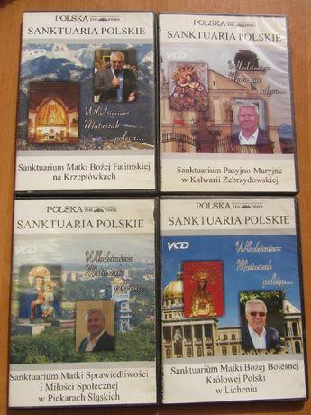 Sanktuaria Polskie na płytach DVD