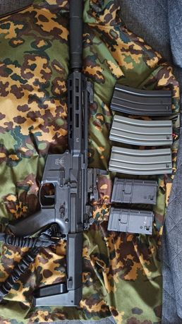 M904G asg 5 magazynków tuning kolimator!