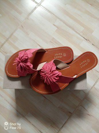 Sandały klapki damskie