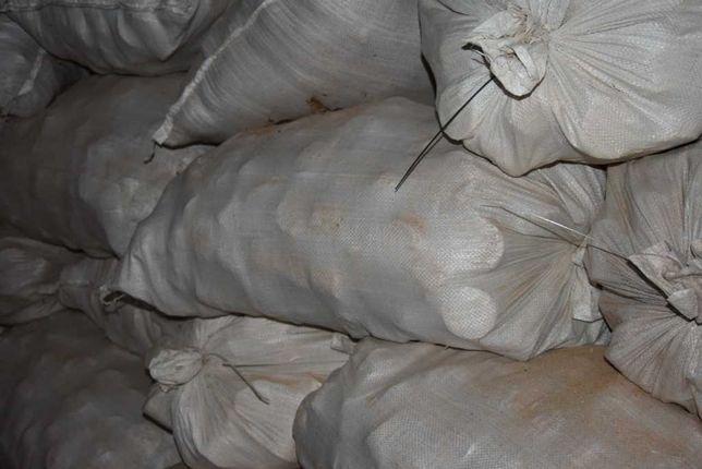 Drewno kominkowe i opałowe suche klocki bukowe worek 85L