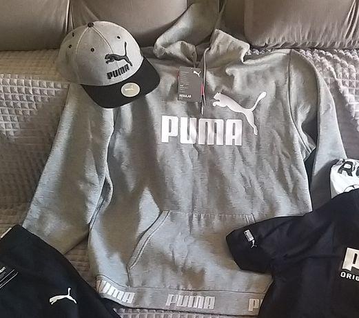 Худи Puma pp.XL тёплая- флис, Оригинал