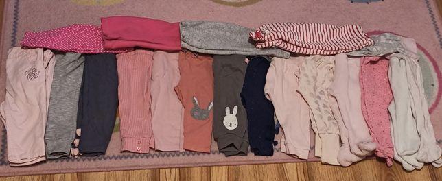 Leginsy spodnie  rozmiar 62-68