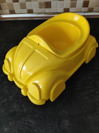 Penico em forma de carro para criança