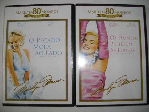 """11 DVD: Marilyn Monroe """"Coleção completa"""""""