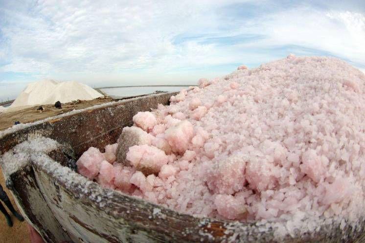 Лечебная морская розовая соль для ванн и ингаляции 1,2 кг. Одесса - изображение 1