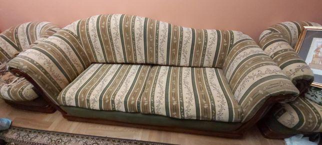 Sofa retro z możliwością spania