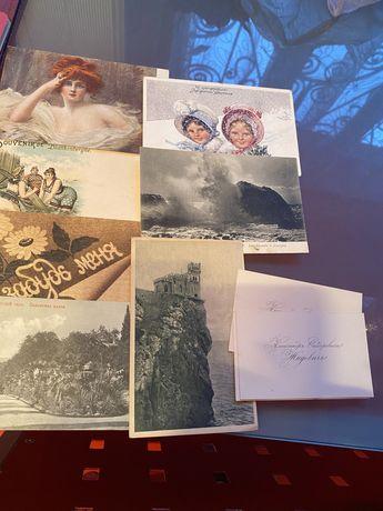 Продаю открытки20 х годов