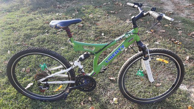 Велосипед спортивный,горный, двухподвес, ne BMX, liberty gmg