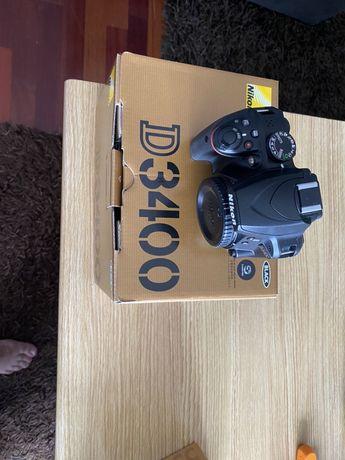 Maquina fotográfica Nikon D3400