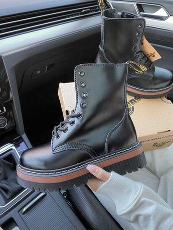 Женские ботинки Dr. Martens 36-40 Кожа! Хит Осени! Топ продаж!
