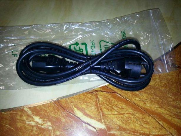 Оригинал!Новый кабель питания (шнур) сетевой 3-х контактный с землёй