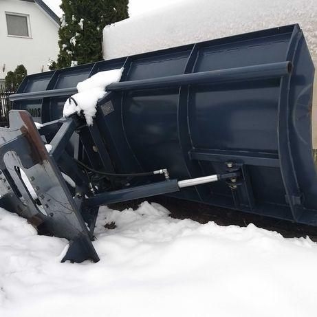 Pług do śniegu koparko ładowarka