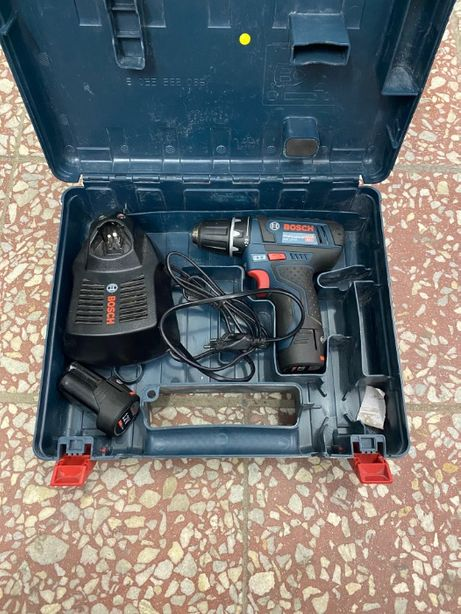 JAK NOWA Wkrętarka Bosch GSR12V-15 + 2 szt. akumulatory + ładowarka