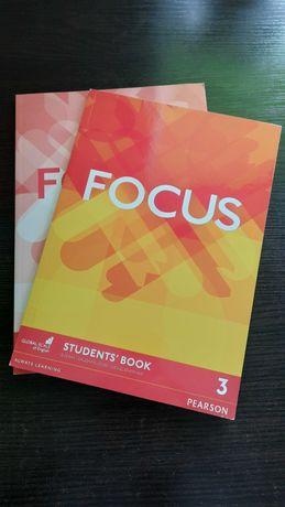 Focus 3, Student's book + Workbook / Учебник + Тетрадь английского яз.