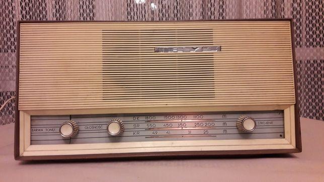 Radio lampowe antyk prl stare IRYS sprawne