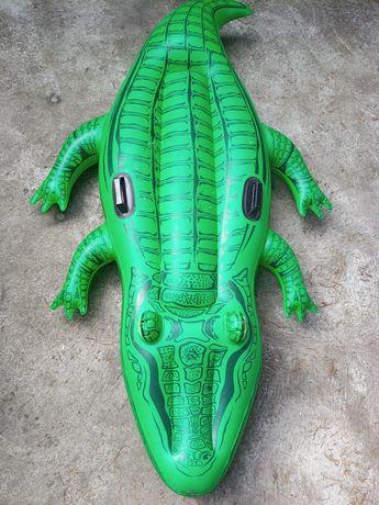 Крокодил зелёный ,надувной.