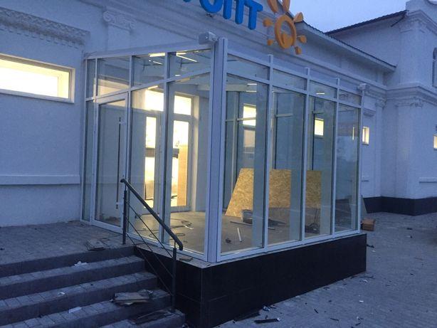 Окна двери фасады