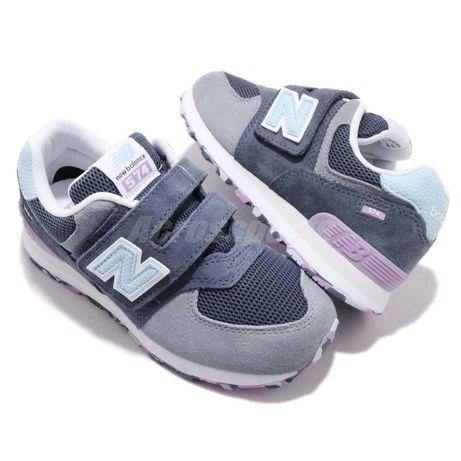 Детские кожаные кроссовки\new balance 574 (USA)\для девочки\р.33