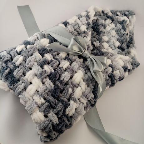 Конверт-одеялко (плед) и пинетки