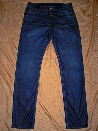Бренд G-Star джинсы узкачи на высокого подростка парня длина 118 см