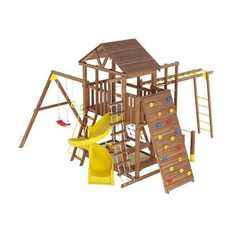 Детская деревянная площадка, дитячий ігровий майданчик