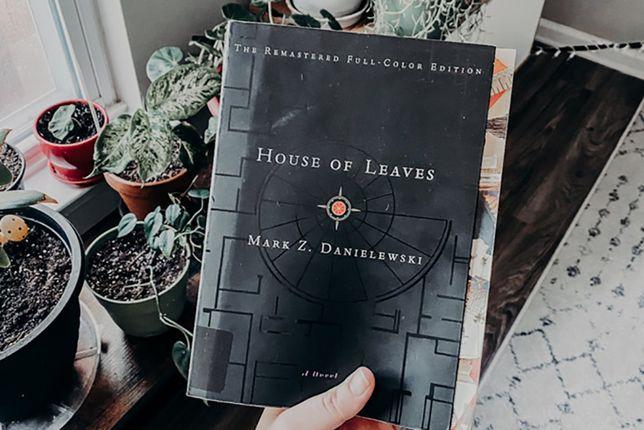 Книга House Of Leaves Дом листьев Марк Данилевский на английском