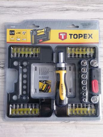 TOPEX- końcówki wkrętakowe i nasadki z uchwytem