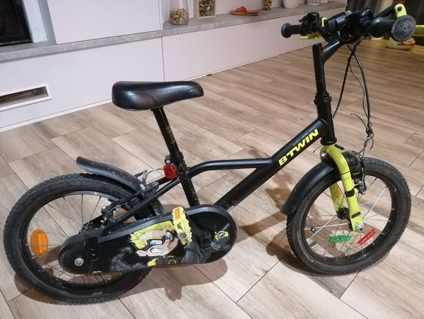 """Rower dziecięcy 16"""" b'twin zero dark 500"""