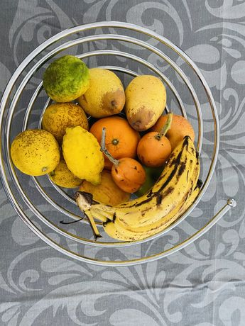 Fruteira inox